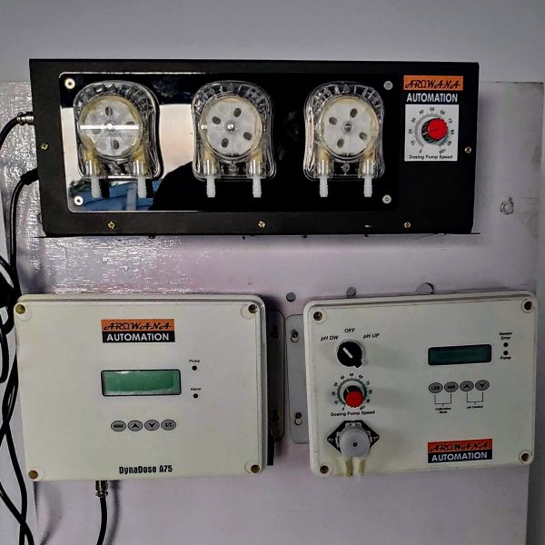 Control Panel being Setup for Gujarat Project
